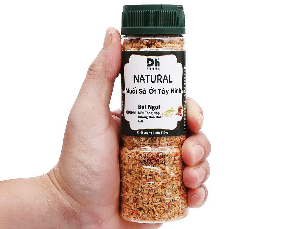 Muối sả ớt Tây Ninh Dh Foods Natural hũ 110g 6