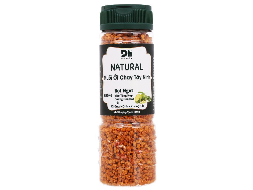 Muối ớt chay Tây Ninh Dh Foods Natural hũ 110g 1