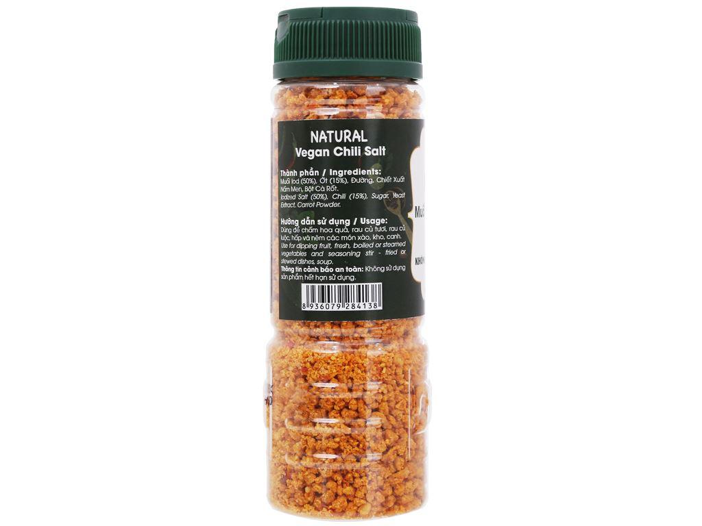 Muối ớt chay Tây Ninh Dh Foods Natural hũ 110g 2