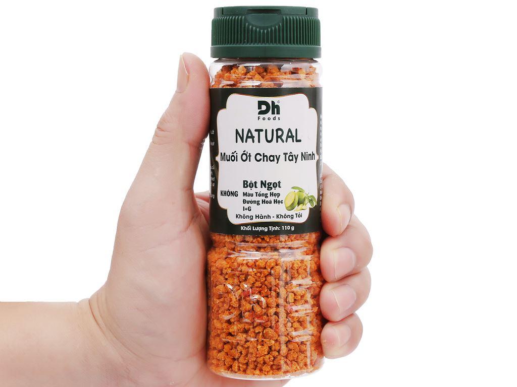 Muối ớt chay Tây Ninh Dh Foods Natural hũ 110g 6