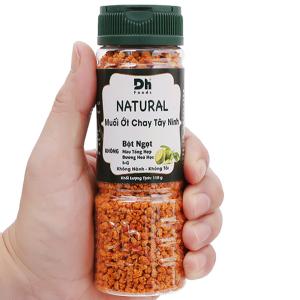Muối ớt chay Tây Ninh Dh Foods Natural hũ 110g