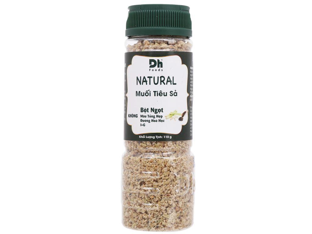 Muối tiêu sả Dh Foods Natural hũ 110g 1