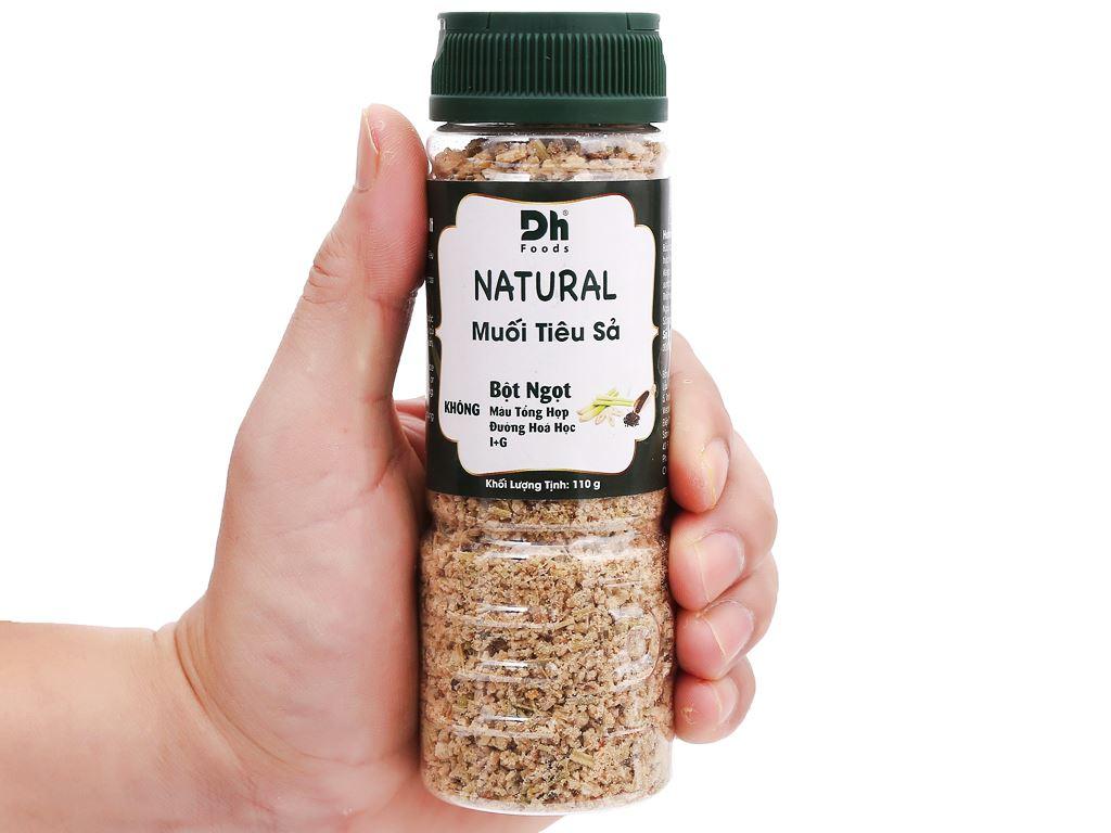 Muối tiêu sả Dh Foods Natural hũ 110g 6