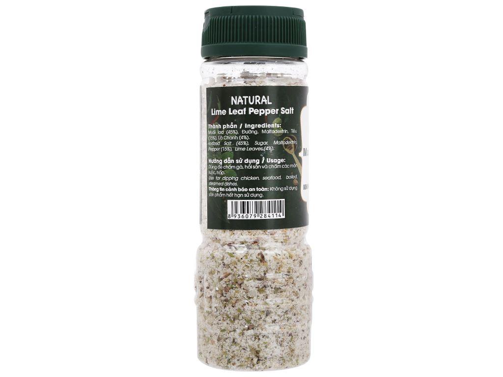 Muối tiêu lá chanh Dh Foods Natural hũ 110g 2