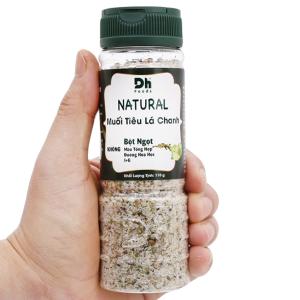 Muối tiêu lá chanh Dh Foods Natural hũ 110g