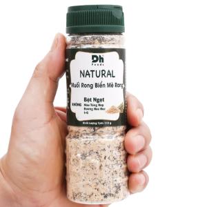 Muối rong biển mè rang Dh Foods Natural hũ 110g