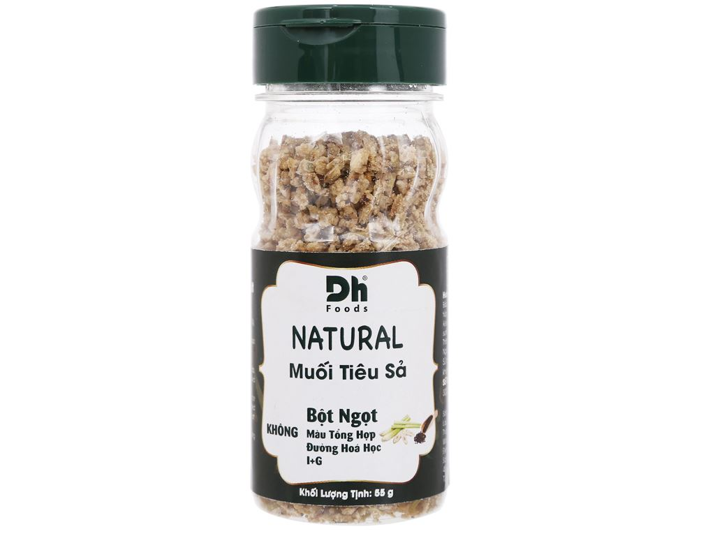 Muối tiêu sả Dh Foods Natural hũ 55g 1