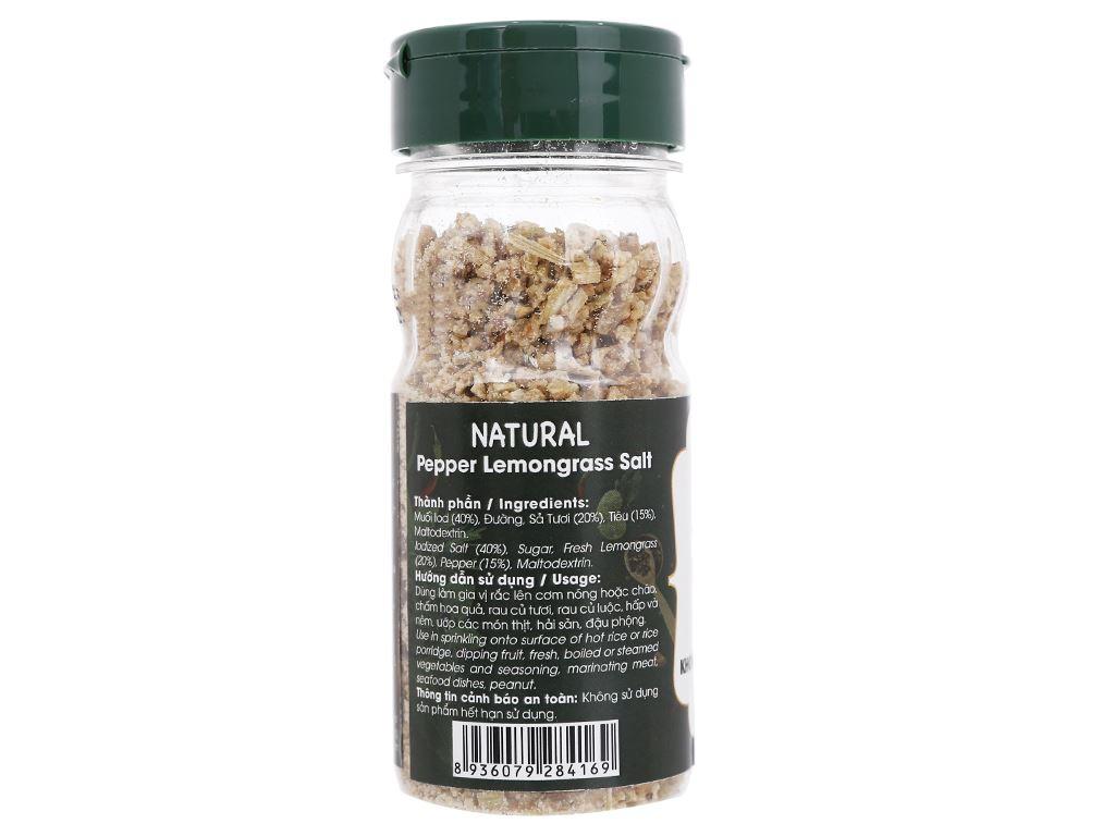Muối tiêu sả Dh Foods Natural hũ 55g 2
