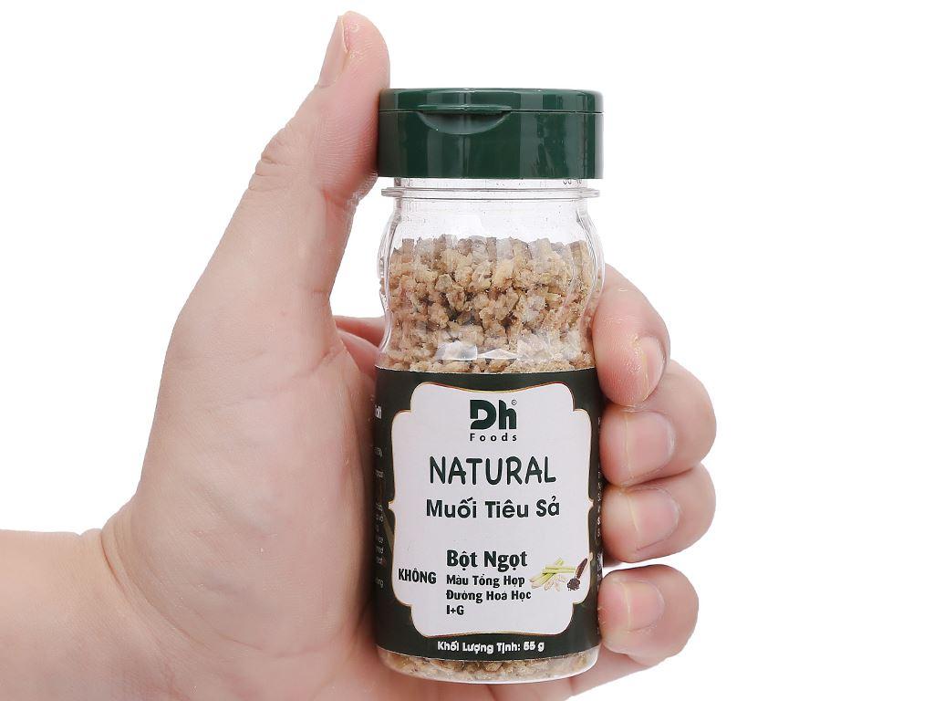 Muối tiêu sả Dh Foods Natural hũ 55g 6