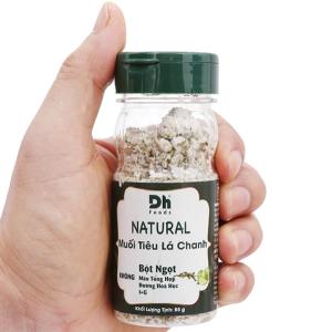 Muối tiêu lá chanh Dh Foods Natural hũ 55g