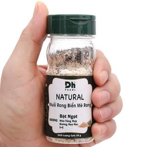 Muối rong biển mè rang Dh Foods Natural hũ 55g