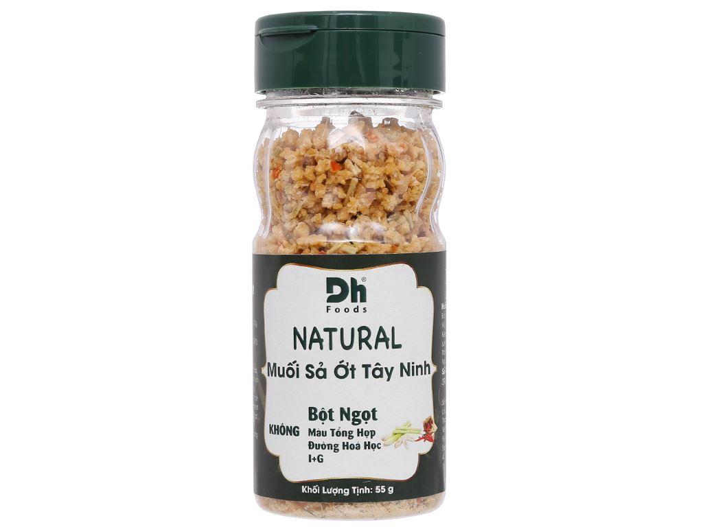 Muối sả ớt Tây Ninh Dh Foods Natural hũ 55g 2