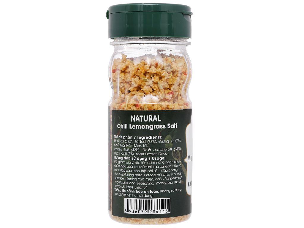 Muối sả ớt Tây Ninh Dh Foods Natural hũ 55g 4