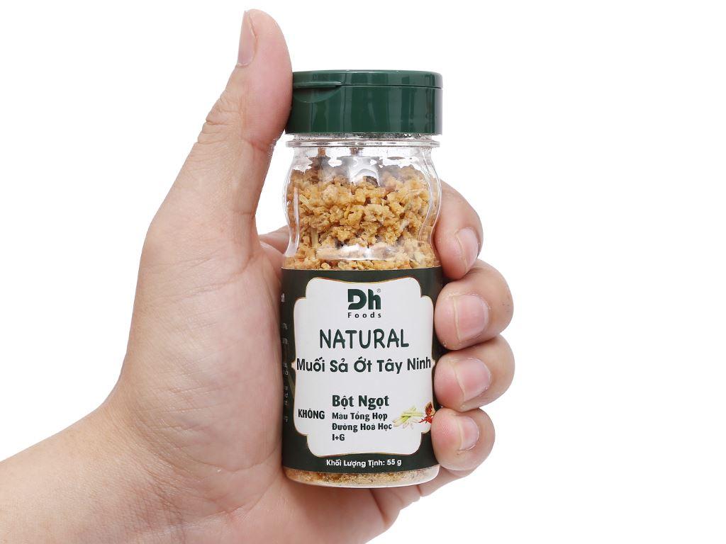 Muối sả ớt Tây Ninh Dh Foods Natural hũ 55g 6