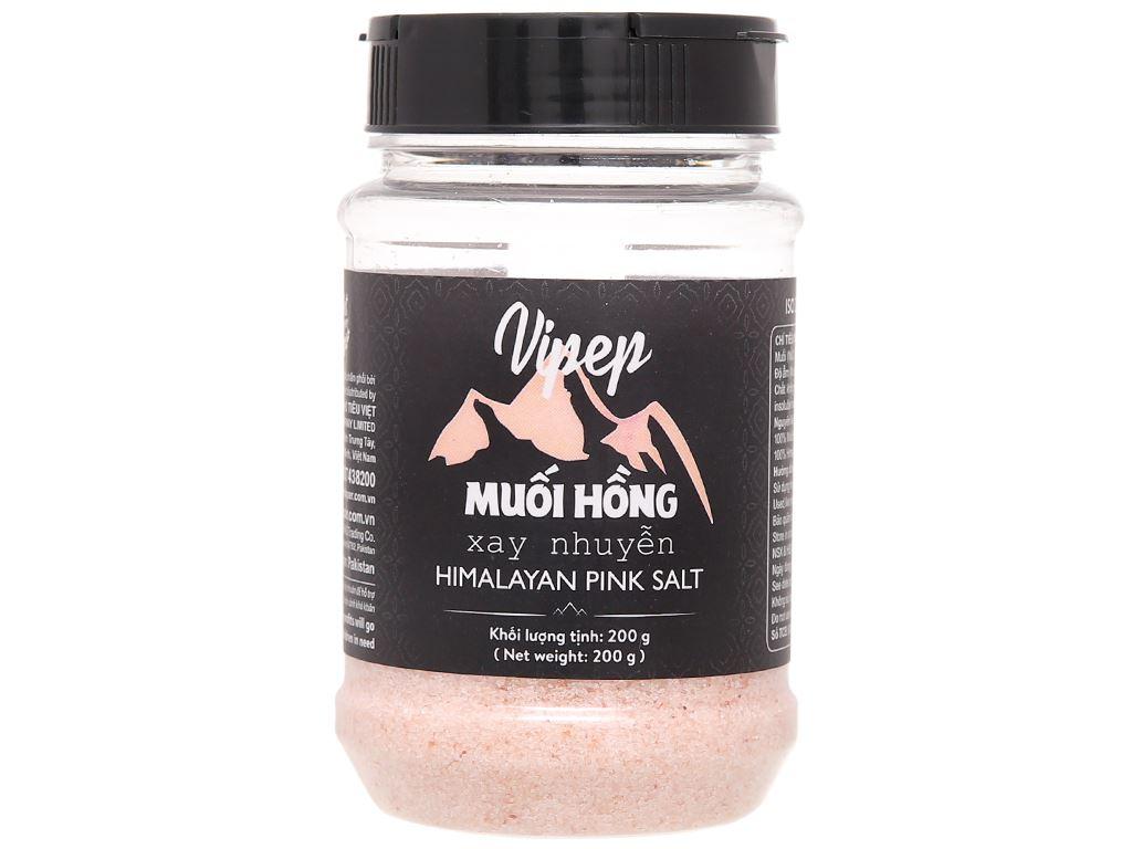 Muối hồng xay nhuyễn Vipep hũ 200g 1