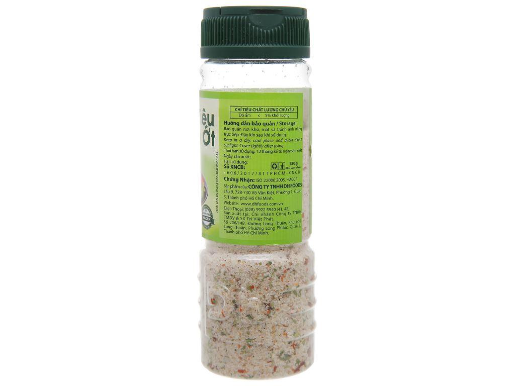 Muối tiêu chanh ớt Dh Foods hũ 120g 2