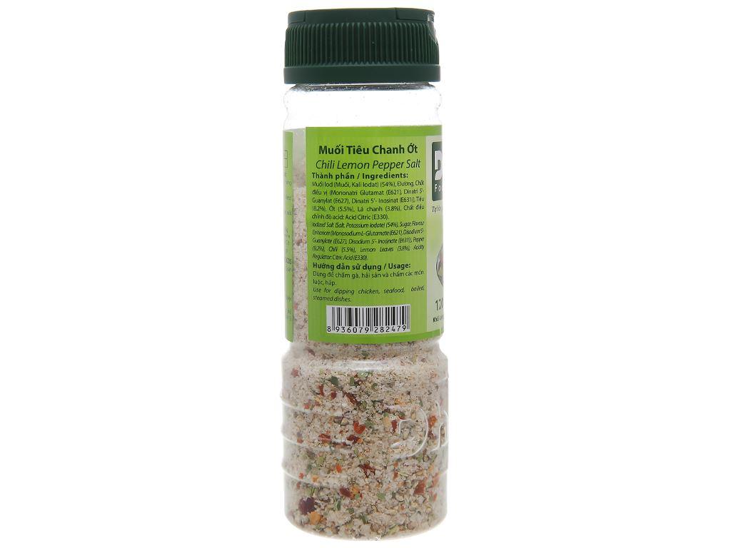 Muối tiêu chanh ớt Dh Foods hũ 120g 3