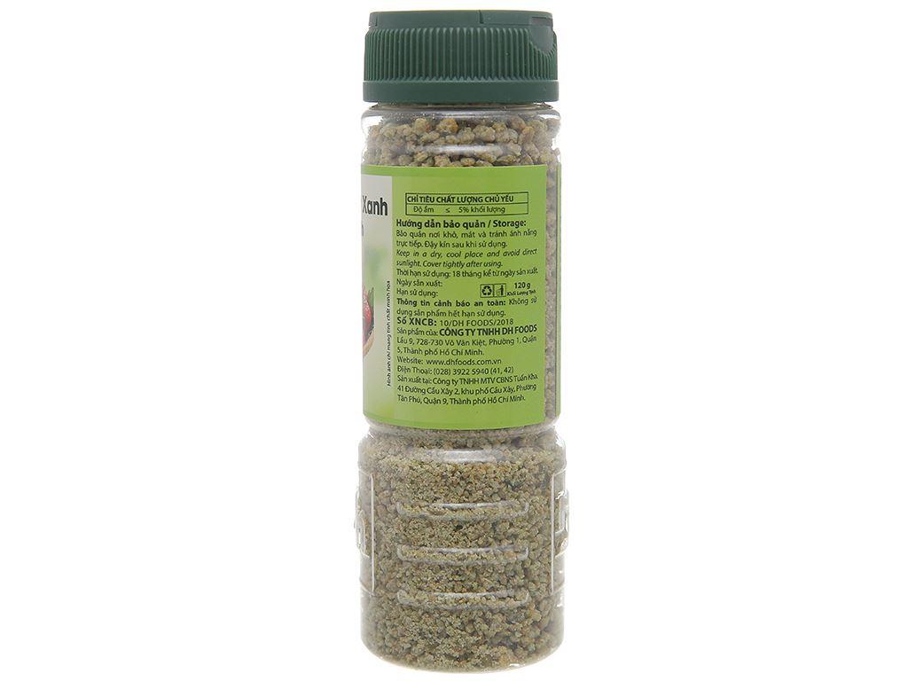 Muối tôm ớt xanh Tây Ninh Dh Foods hũ 120g 2