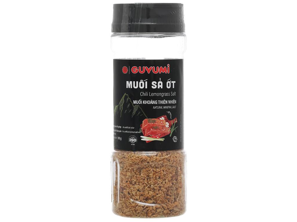 Muối sả ớt Guyumi chai 110g 1
