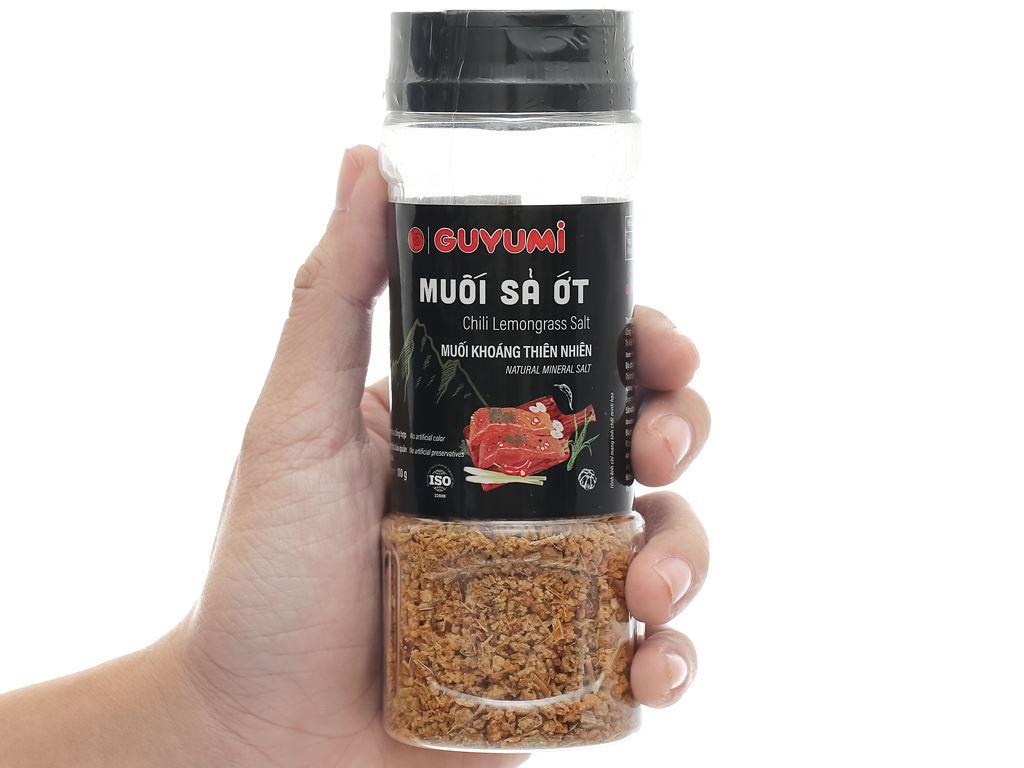 Muối sả ớt Guyumi chai 110g 7