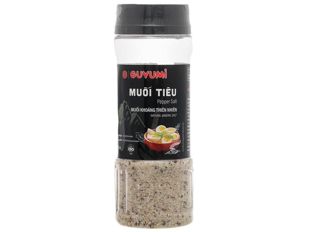 Muối tiêu Guyumi chai 110g 1