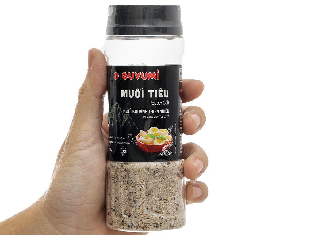 Muối tiêu Guyumi chai 110g 7