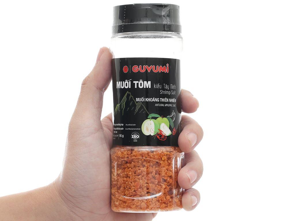 Muối tôm kiểu Tây Ninh Guyumi chai 110g 7