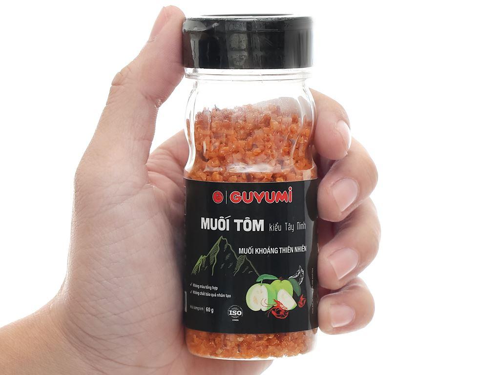 Muối tôm kiểu Tây Ninh Guyumi chai 60g 7