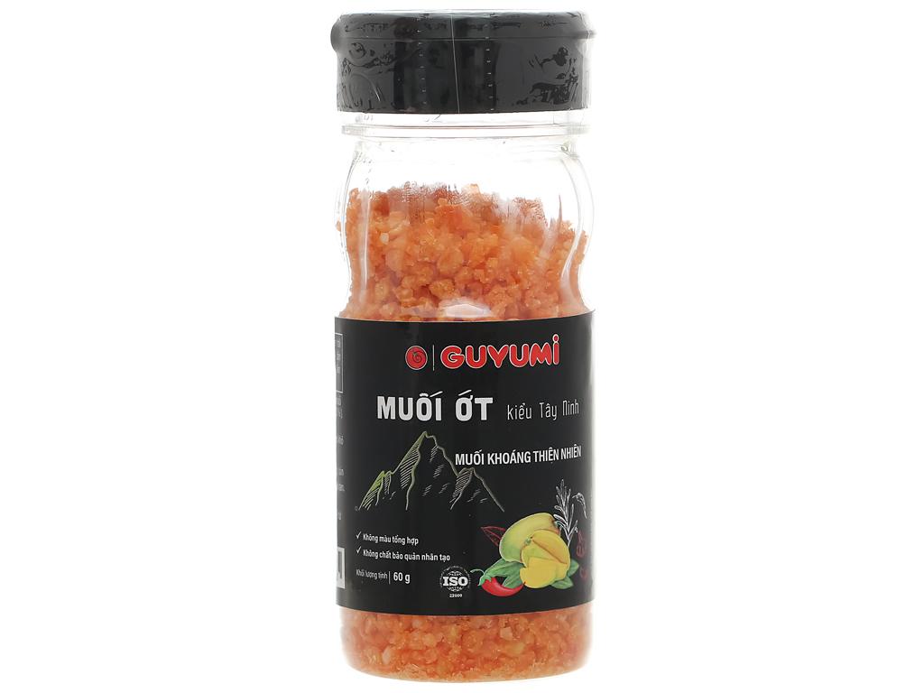 Muối ớt kiểu Tây Ninh Guyumi chai 60g 1