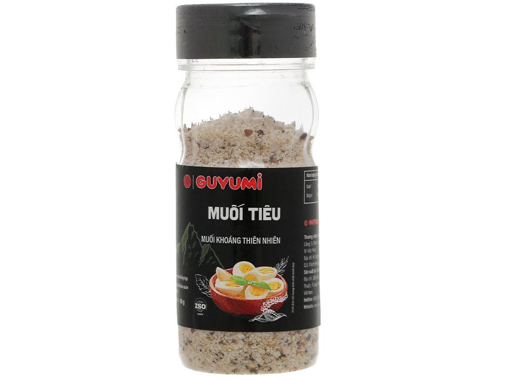 Muối tiêu Guyumi chai 60g 1
