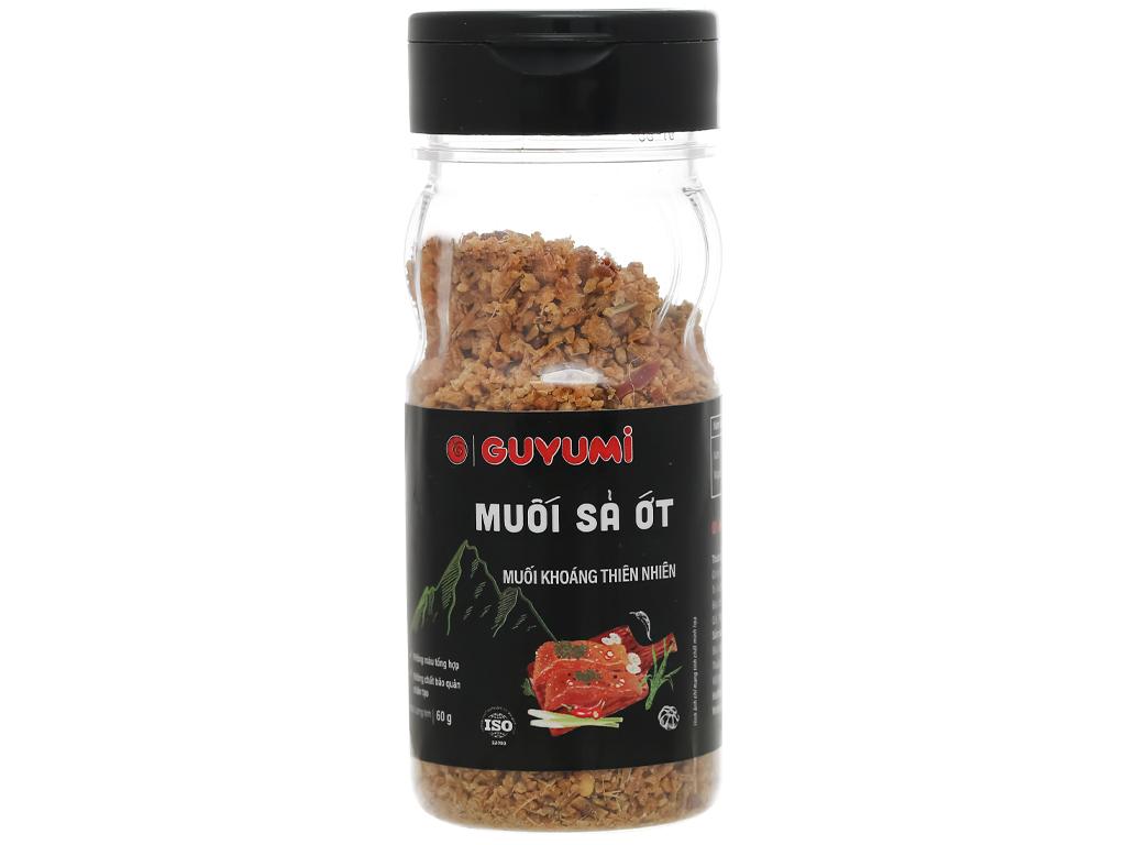 Muối sả ớt Guyumi chai 60g 1