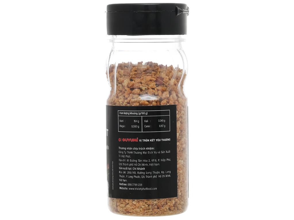 Muối sả ớt Guyumi chai 60g 2