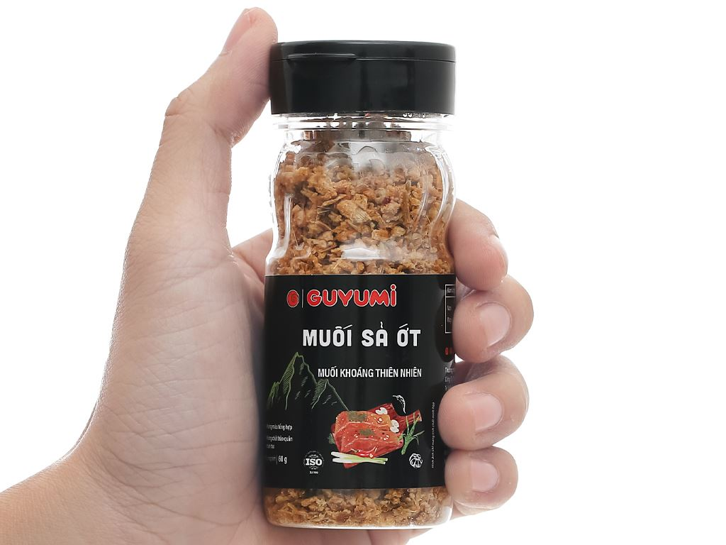 Muối sả ớt Guyumi chai 60g 7