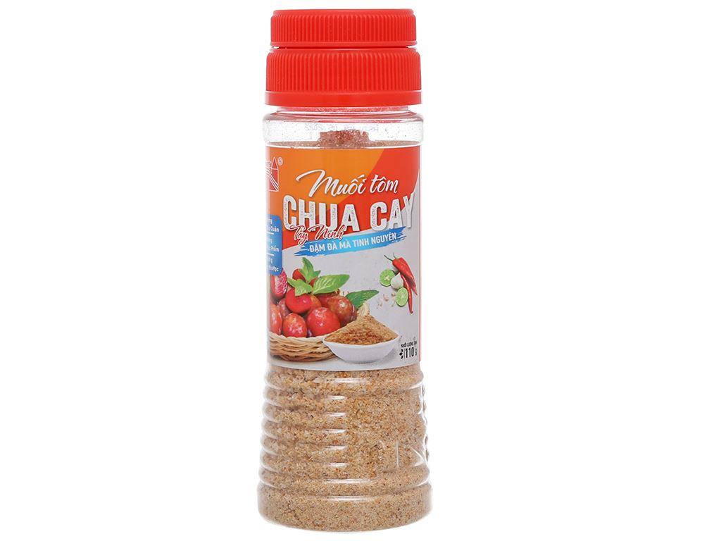 Muối tôm chua cay Tây Ninh Tinh Nguyên hũ 110g 1