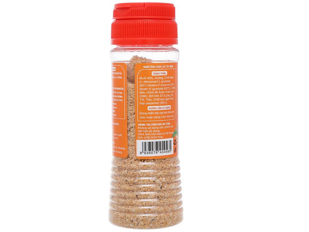 Muối tôm chua cay Tây Ninh Tinh Nguyên hũ 110g 2