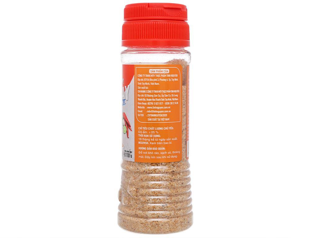 Muối tôm chua cay Tây Ninh Tinh Nguyên hũ 110g 4