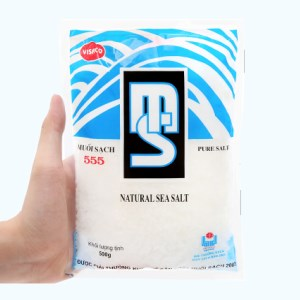 Muối sạch Visaco 555 gói 500g