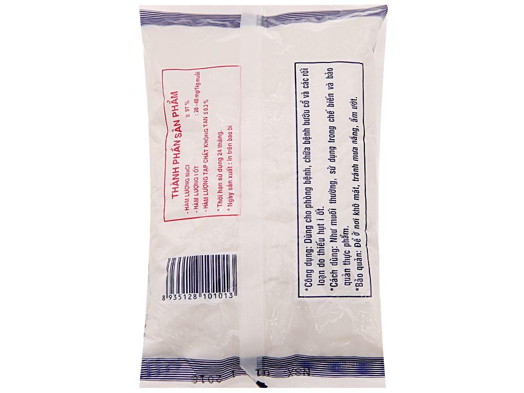 Muối I-ốt Bạc Liêu gói 500g 2