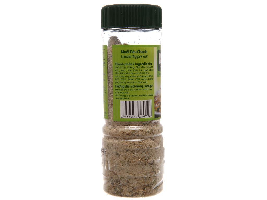 Muối tiêu chanh Dh Foods hũ 120g 2