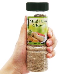 Muối tiêu chanh Dh Foods hũ 120g