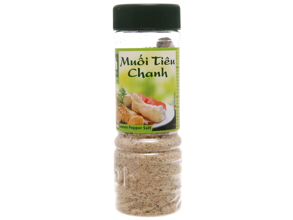 Muối tiêu chanh Dh Foods hũ 120g 1