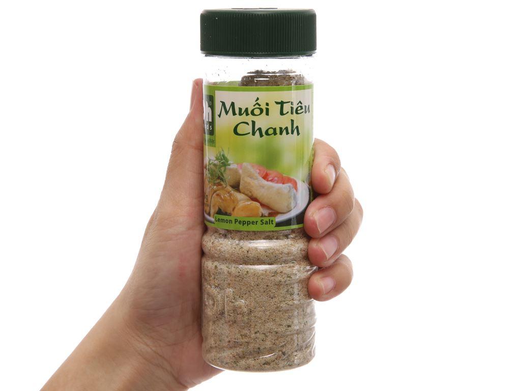 Muối tiêu chanh Dh Foods hũ 120g 3