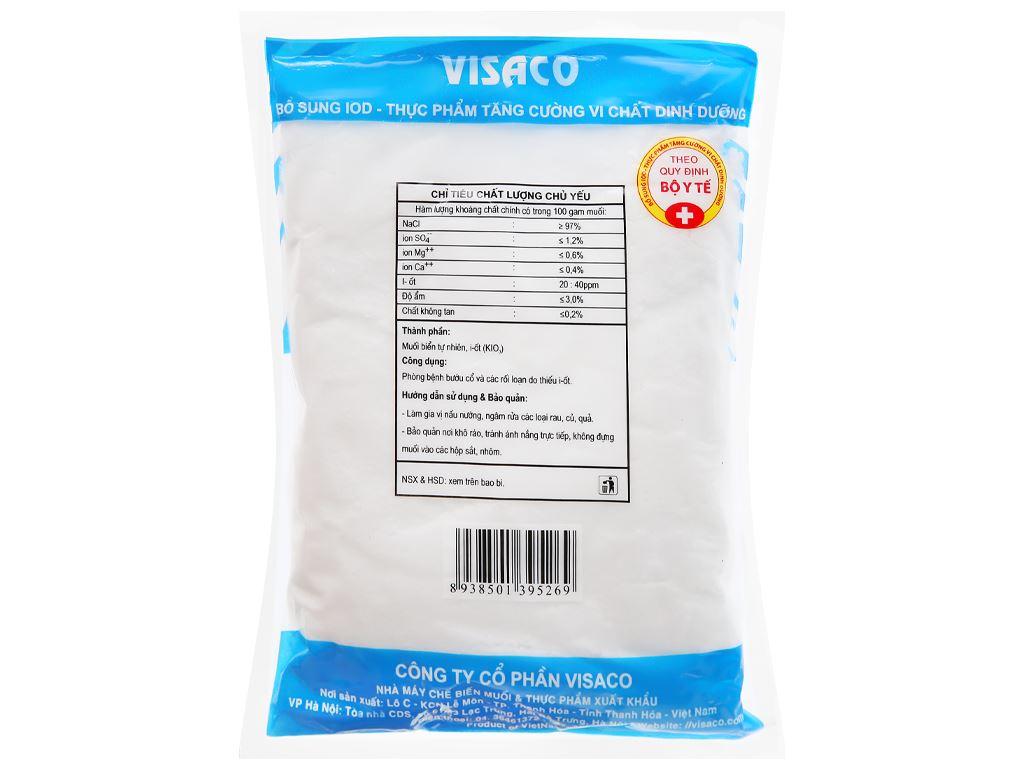 Muối I-ốt Visaco gói 500g 7