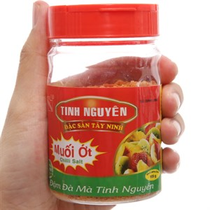 Muối ớt Tinh Nguyên hũ 100g