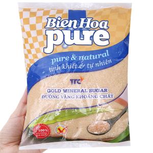 Đường vàng khoáng chất Biên Hòa Pure gói 1kg