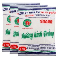 Combo 3 gói đường Toàn Phát 1 Kg