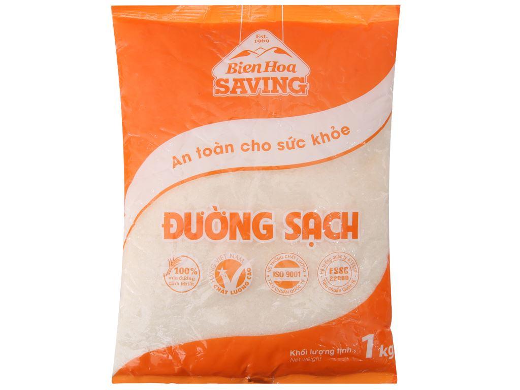 Đường sạch Biên Hòa Saving gói 1kg 1