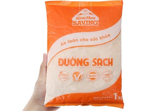 Đường sạch Biên Hòa Saving gói 1kg 3