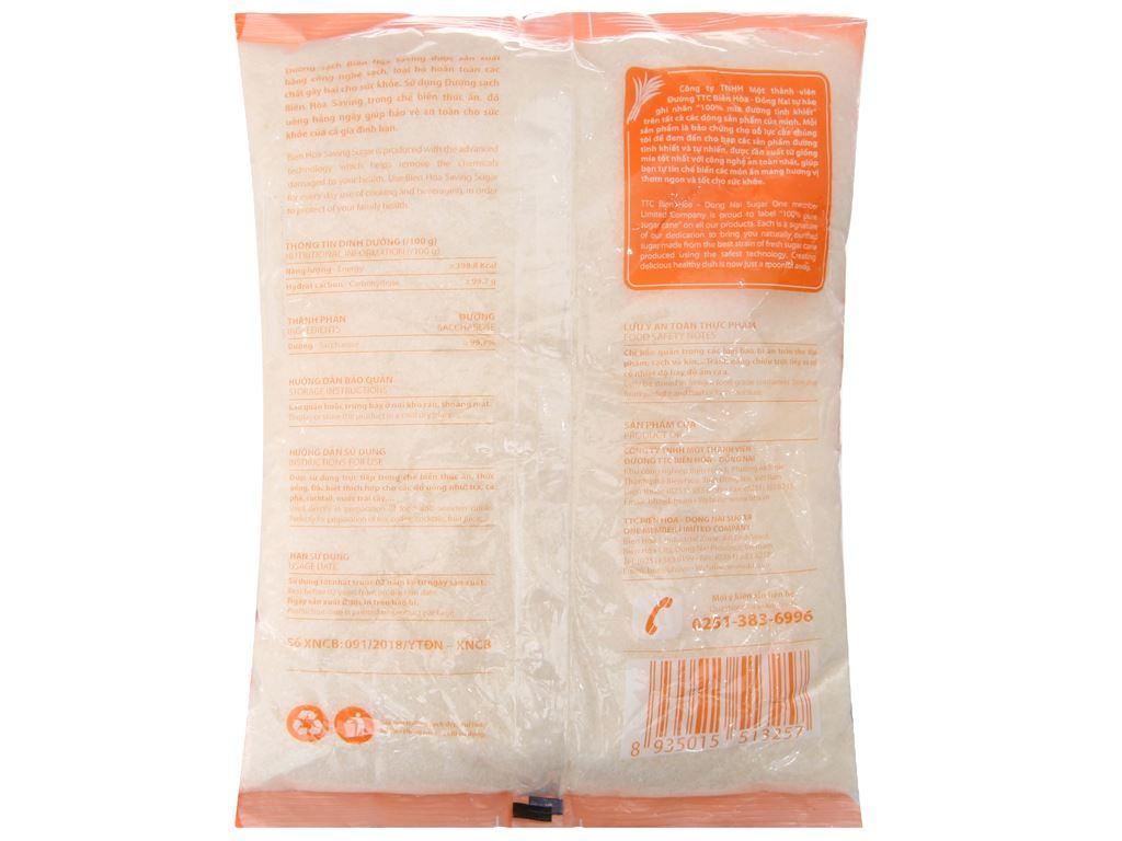 Đường sạch Biên Hòa Saving gói 1kg 2