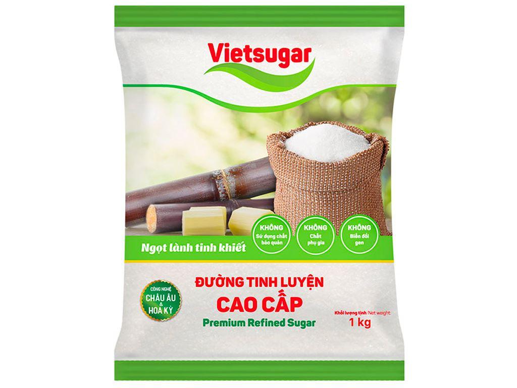Đường tinh luyện cao cấp Vietsugar gói 1kg 1